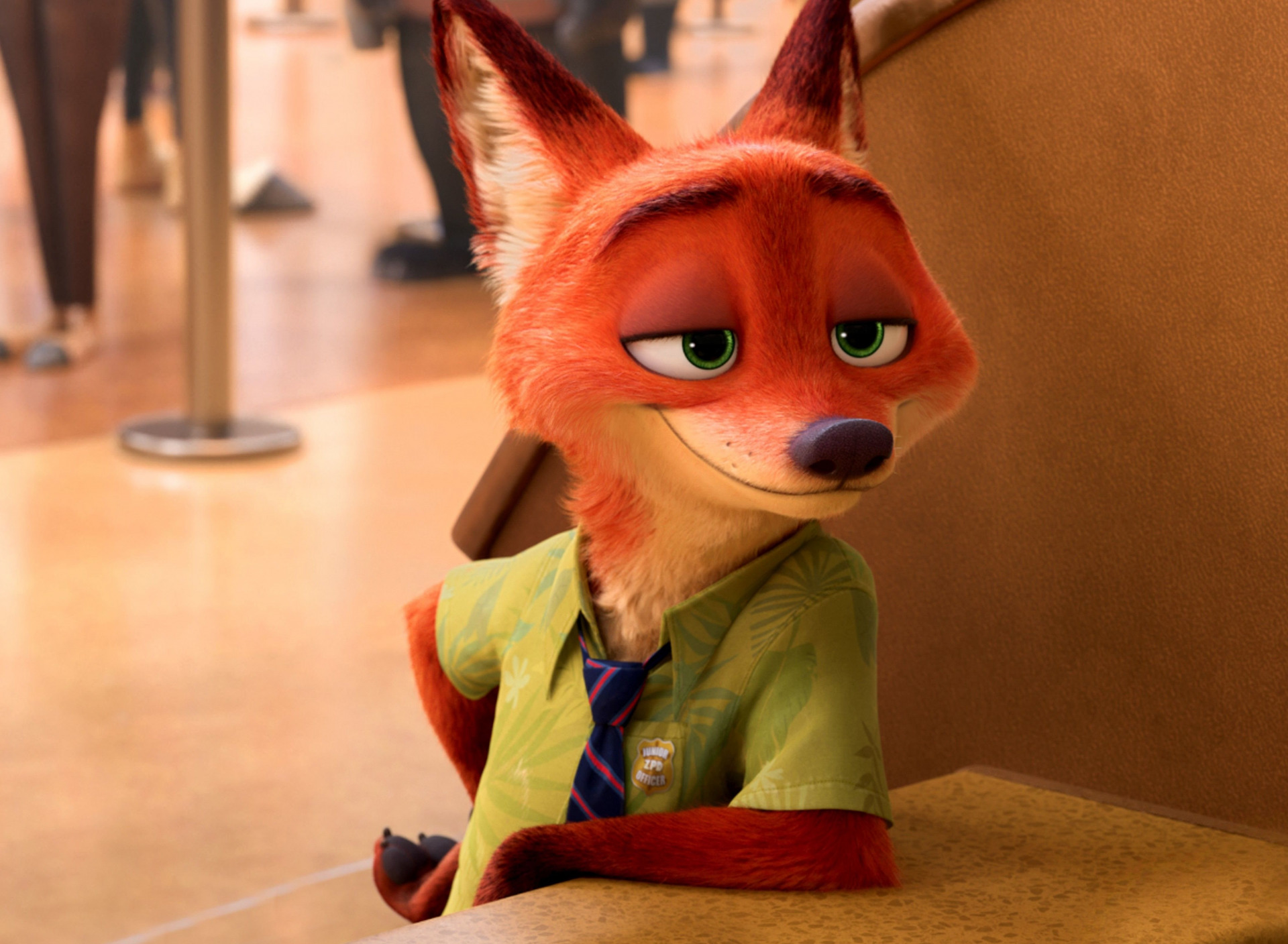 Nick from Zootropolis